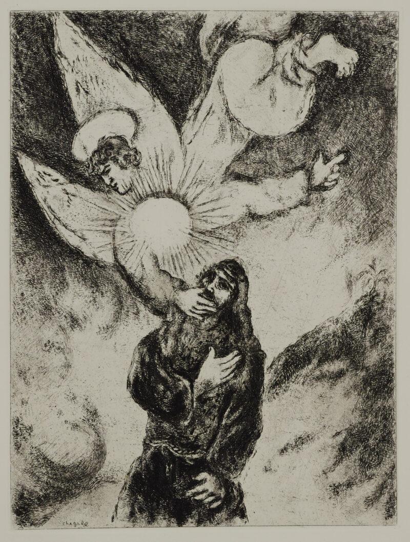 Marc Chagall Jeremias Berufung