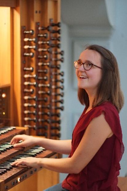 Orgelspielerein