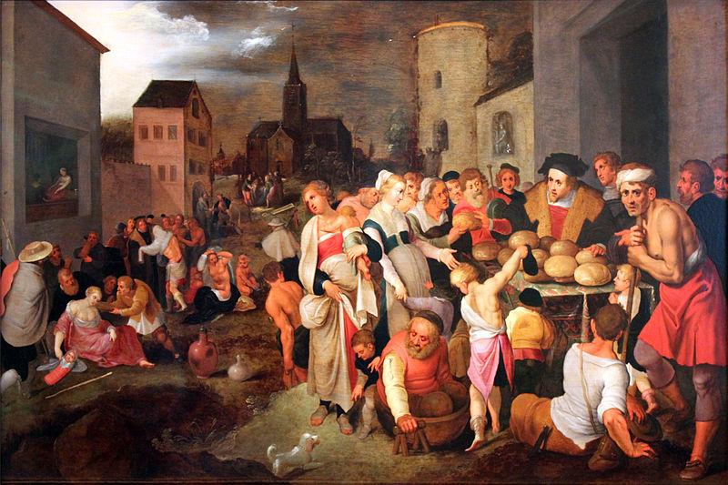Frans II Francken: Die sieben Werke der Barmherzigkeit, 1605