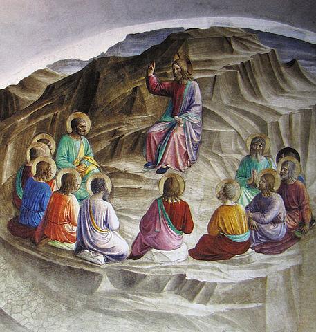 Fresko Die Bergpredigt (Fra Angelico, 1437–1445)
